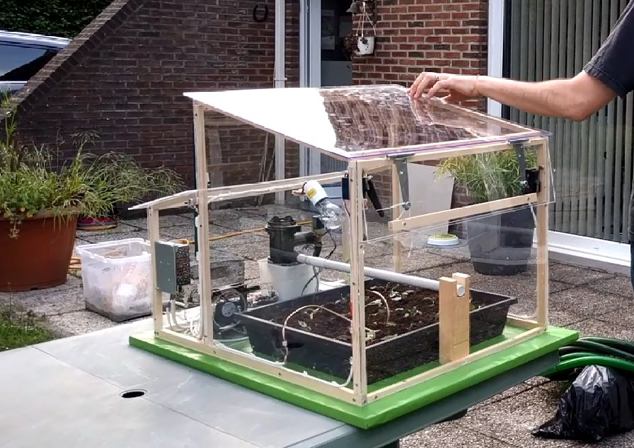 Automated Greenhouse Plans