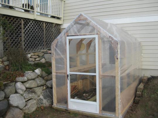 Back Door Greenhouse