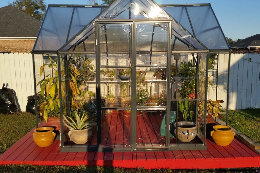 Backyard Chalet Greenhouse