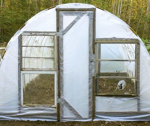 Cheap Greenhouse Plan