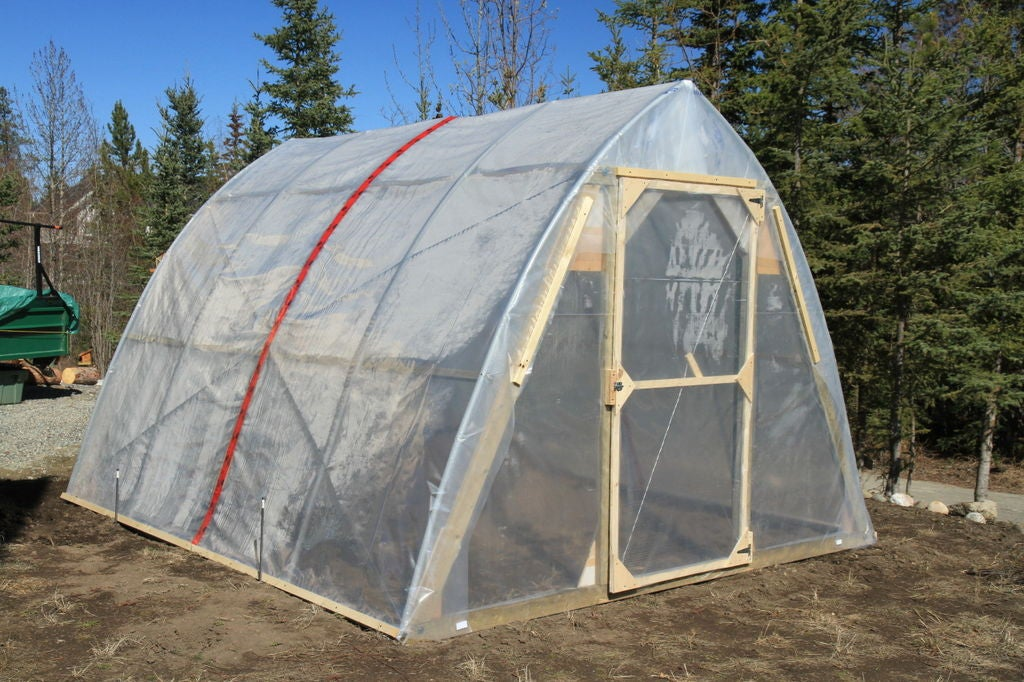 Cold Climate Greenhouse