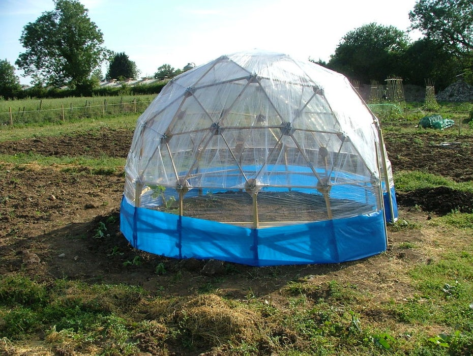 Dome Greenhouse Plans