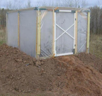 Insulated DIY Greenhouse