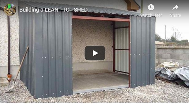Metal Lean To Shed