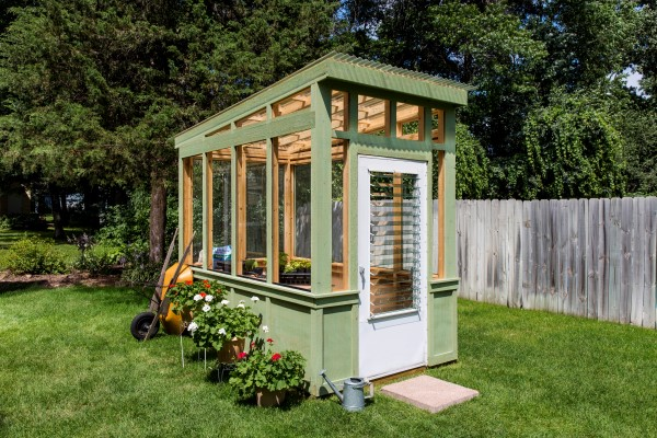 Old World Style Greenhouse