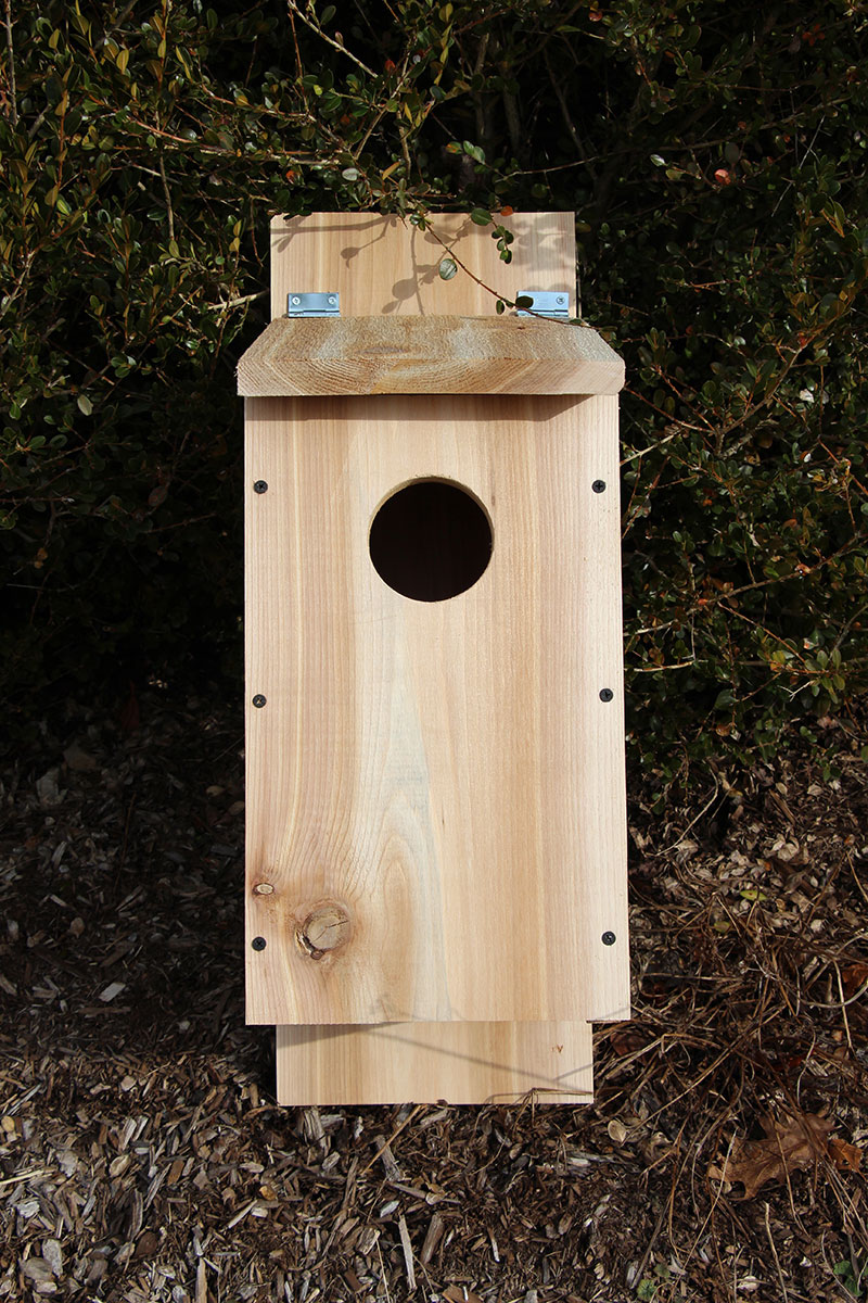 Cedar Board Owl Box Plans