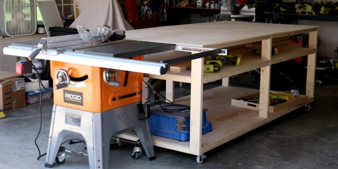 DIY Garage Workbench Plans