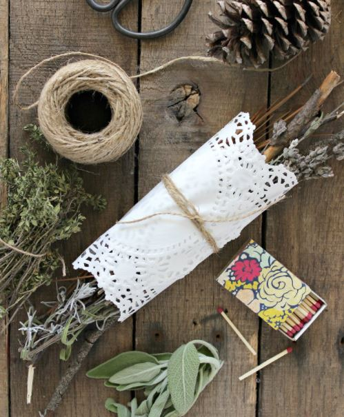 Dried Herb Firestarter