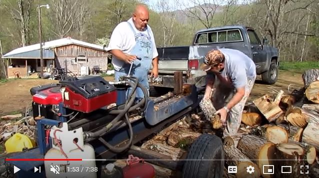 Two Way Log Splitter