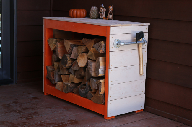 DIY Firewood Box