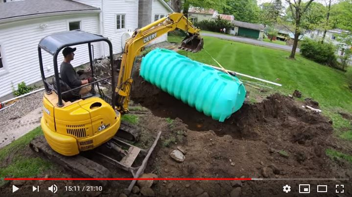 DIY septic system