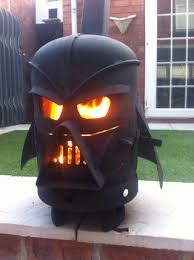 Darth Vader Homemade Wood Stove