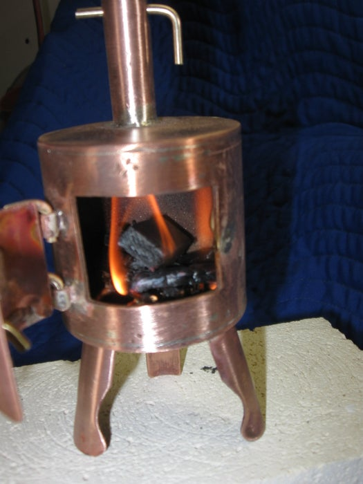Mini Wood Stove