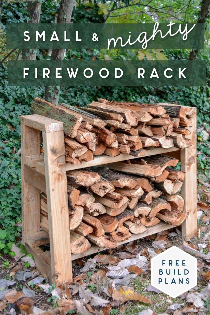 Small Firewood Rack