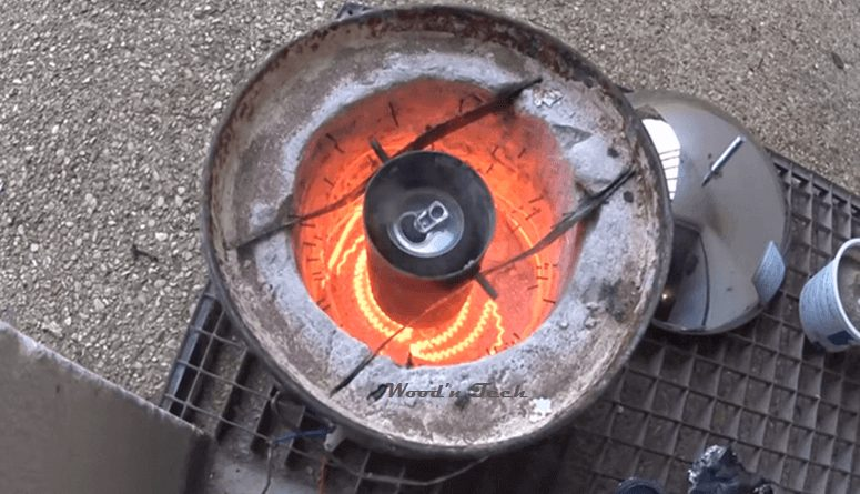 Homemade Electric Forge