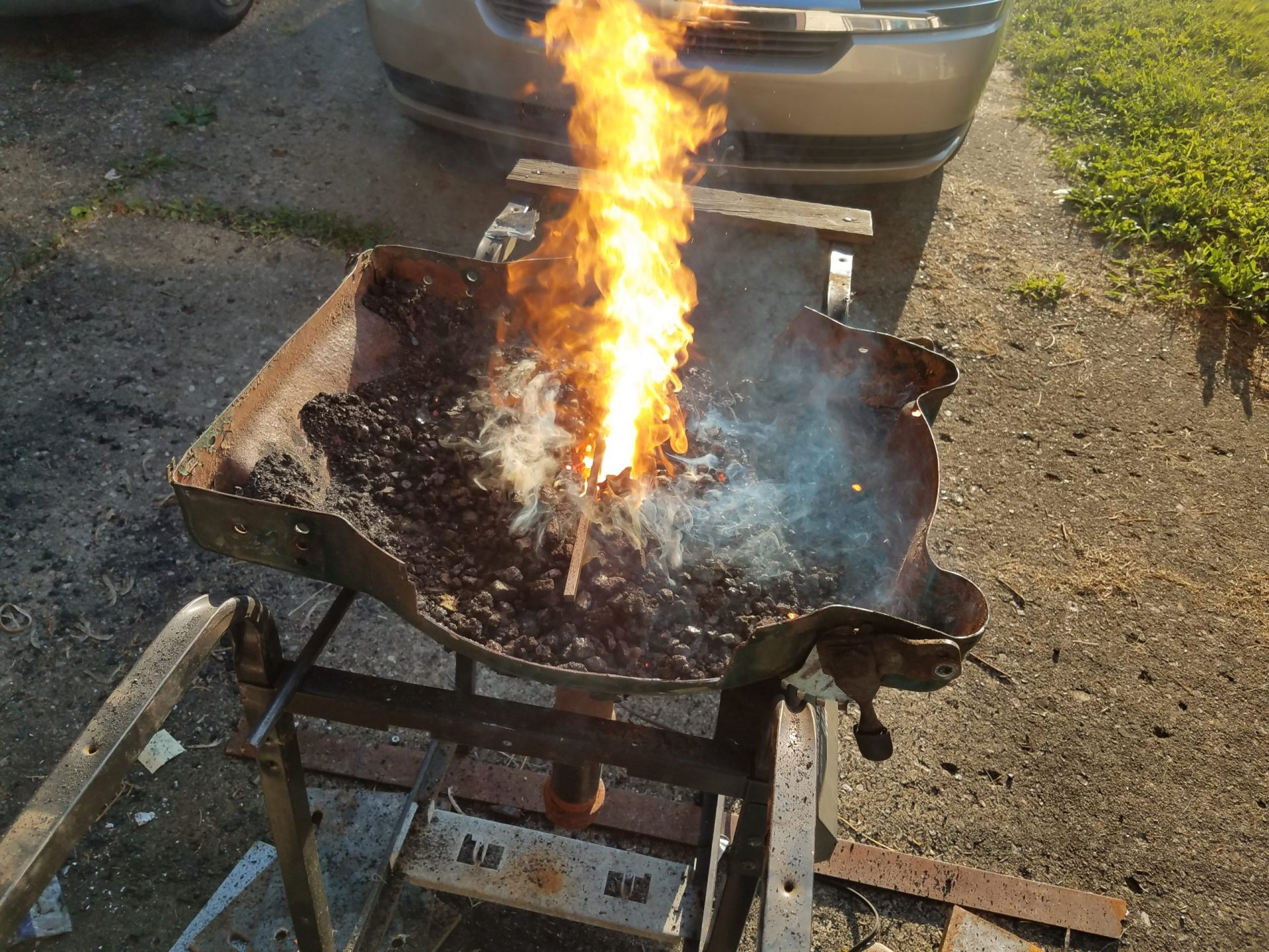 Lawnmower Deck Homemade Forge
