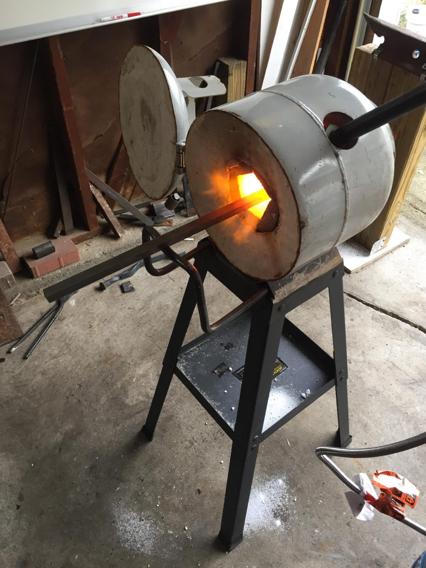 Propane Forge Build