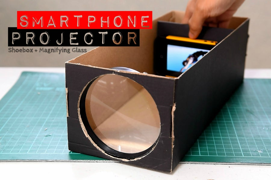 cell phone projector