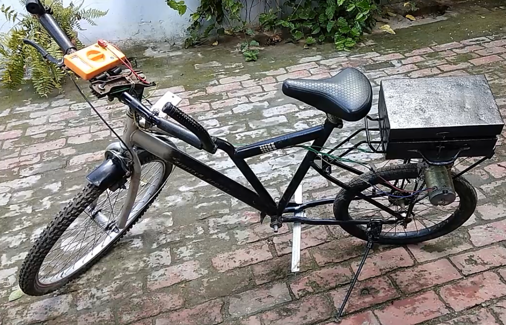 homemade electric cycle