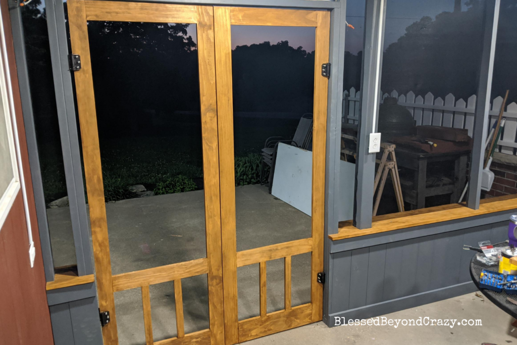 DIY Screen Patio