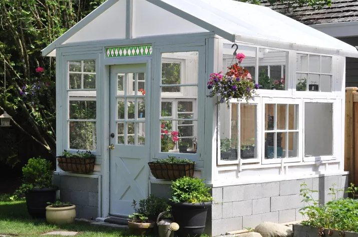 Greenhouse from Vintage Windows