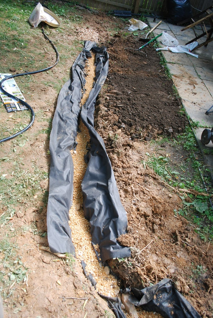Install a french drain