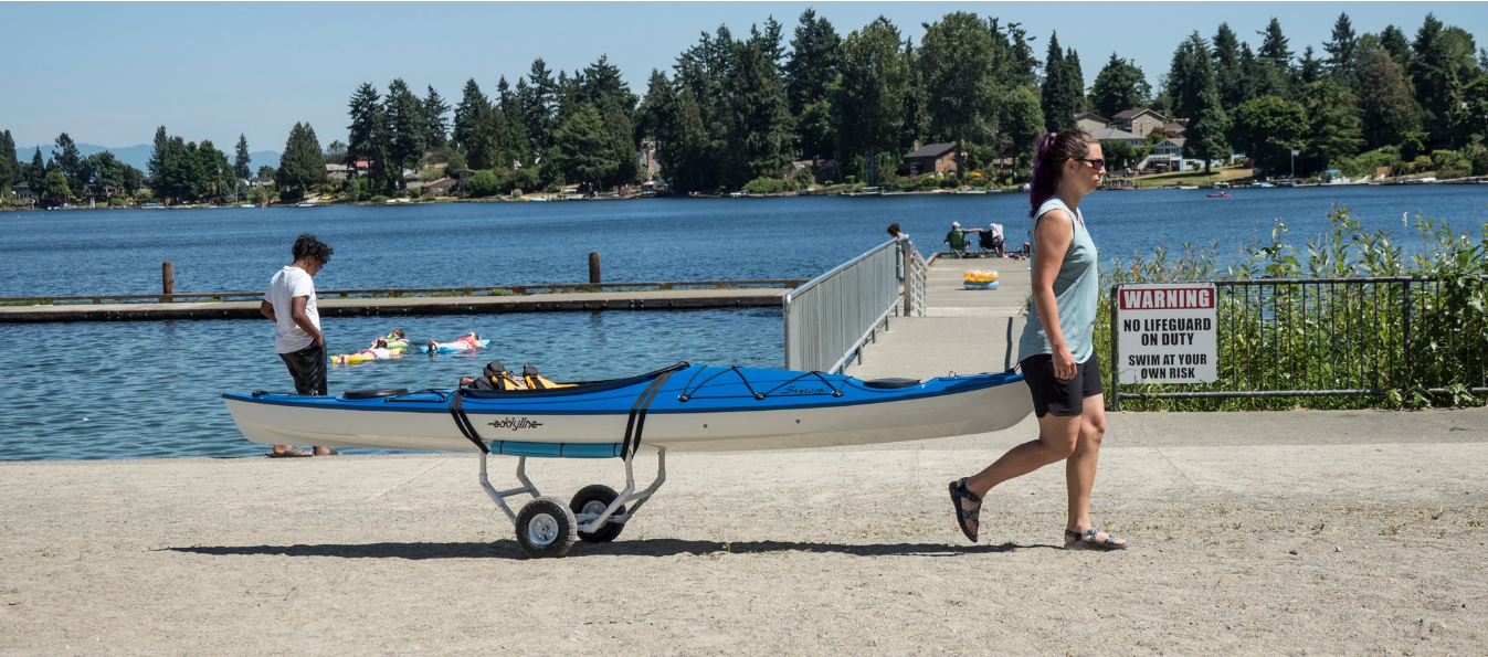 PVC Kayak Cart