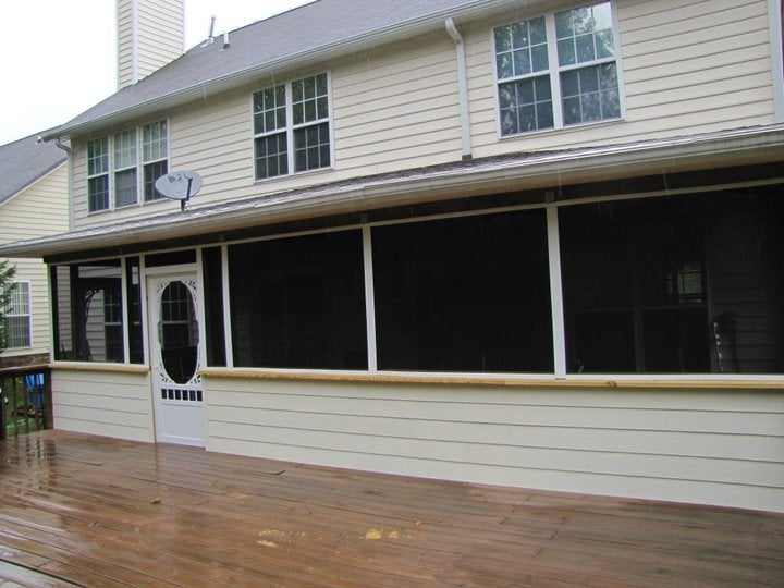 Screened In Large Porch
