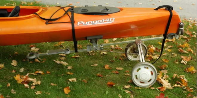 diy kayak cart