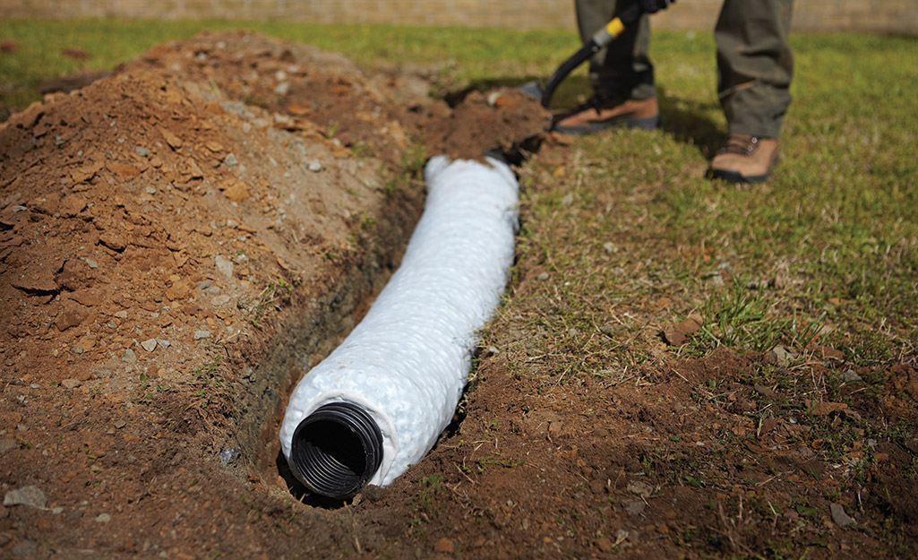 how-to-install-a-french-drain-step-10