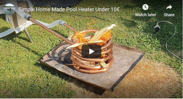 Copper Coil Pool Heater
