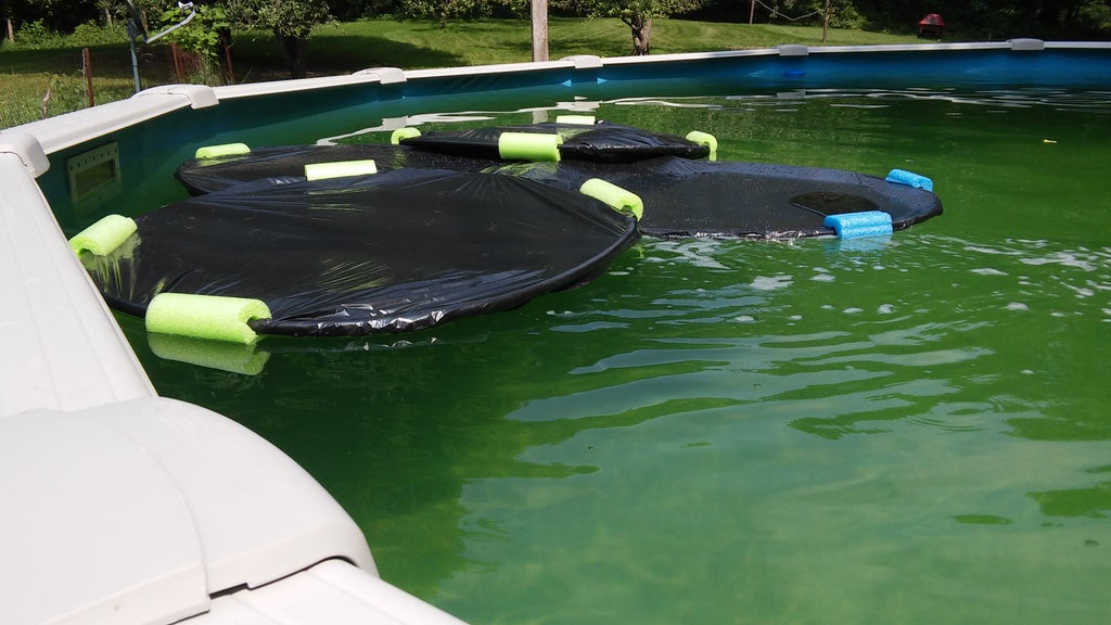 DIY Lily Pad Pool Heater