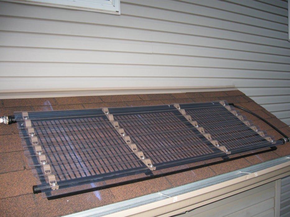 Rooftop Solar Water Heater