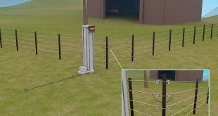 DIY Electric Fence Energizer This YouTube video provides a detailed drawing of an easy to build electric fence energizer. Ideal for sending the electric current through the fencing so animals will know their boundaries and remain safely inside. Keep the predators out and your homestead livestock safe with a DIY electric fence.