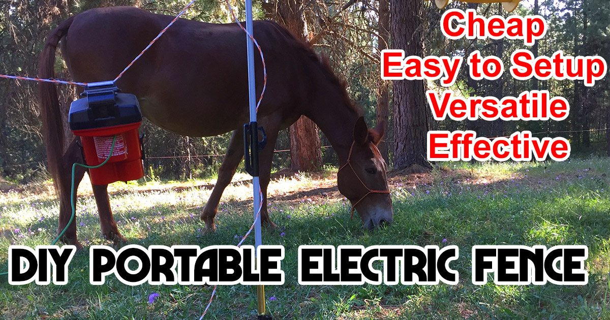Portable Electric Fence