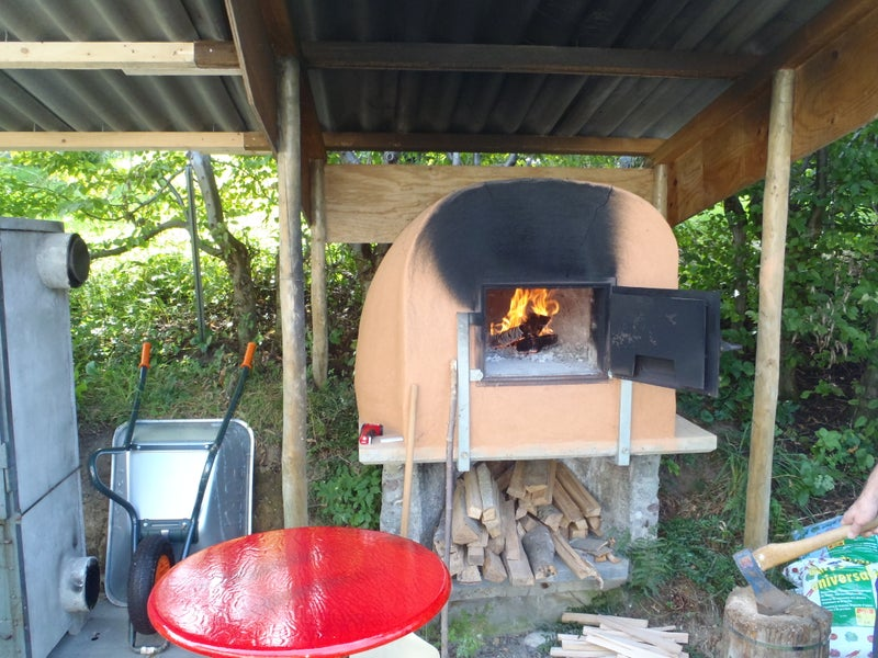 Clay Pizza Oven