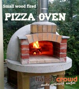 Wood Fire Oven With Chimney