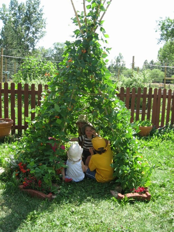 Create a Natural Play Space for Kids
