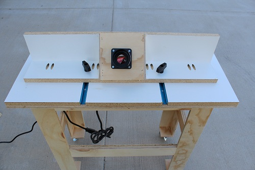 DIY Router Table For Big Jobs