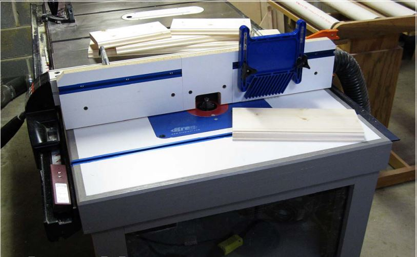 Table Saw Router Fence