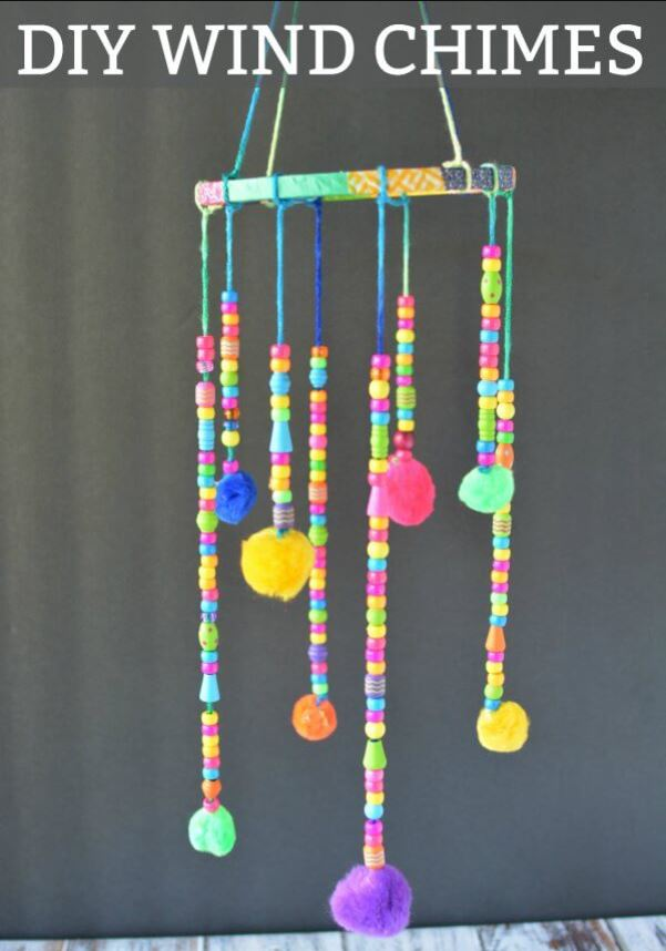 Beaded Wind Chime Project