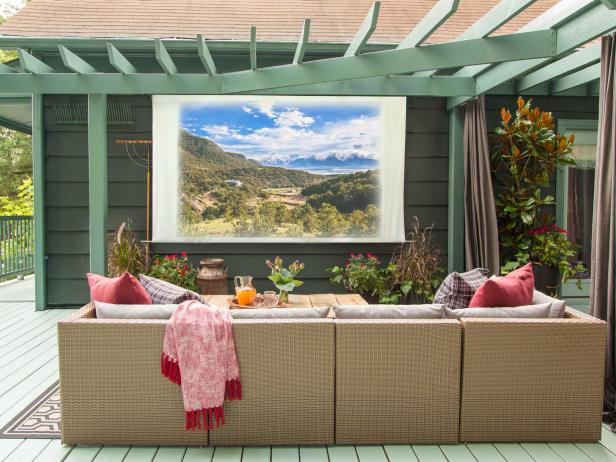 Movie Screen For Deck