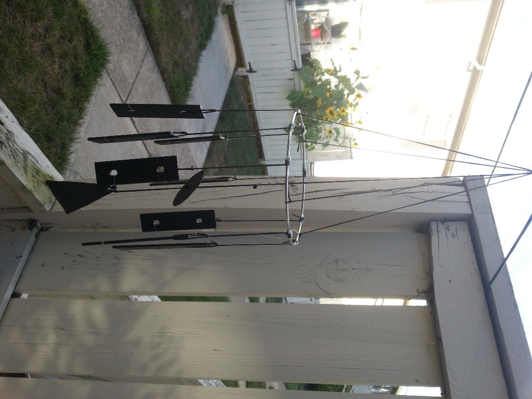 Repurposed Xylophone Wind Chimes