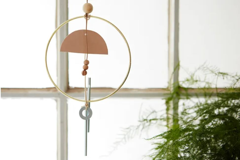 Wood and Metal Indoor Wind Chimes
